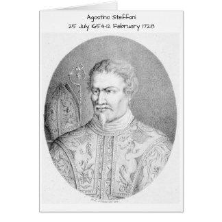 Agostino Steffani Card