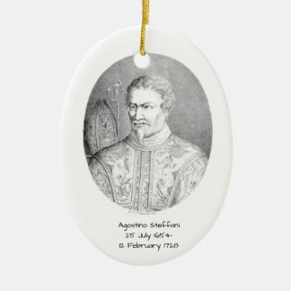 Agostino Steffani Ceramic Ornament