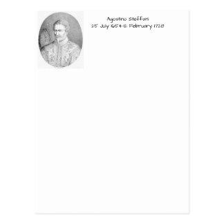 Agostino Steffani Postcard