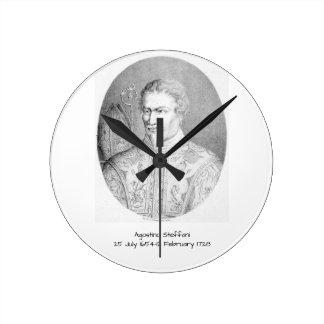 Agostino Steffani Round Clock