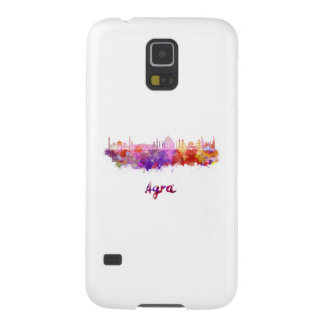 Agra skyline in watercolor galaxy s5 cover