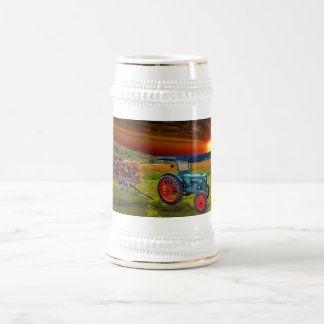 Agriculture Beer Stein