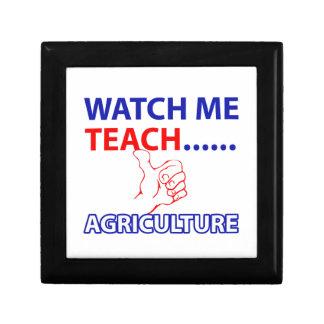 Agriculture design keepsake boxes