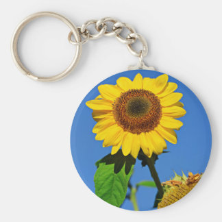 Agriculture Themed Basic Round Button Keychain