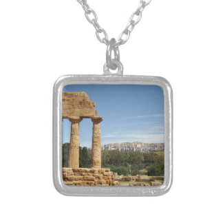 Agrigento, Sicily Silver Plated Necklace