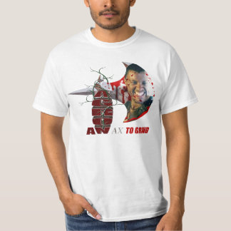 AGRON AN AX TO GRIND T-SHIRT