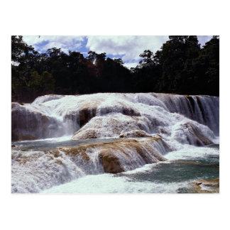 Agua Azul Waterfalls, Chiapas State, Mexico Postcard