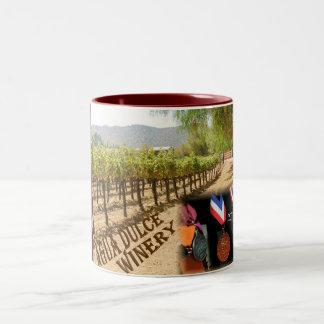 Agua Dulce Winery Two-Tone Coffee Mug