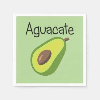 Aguacate (Avocado) Disposable Napkins
