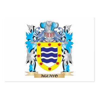 Aguayo Coat Of Arms Business Card Templates