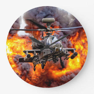 AgustaWestland Apache AH1 Large Clock