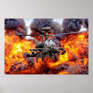 AgustaWestland Apache AH1 Poster