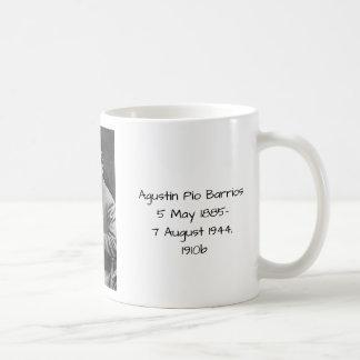 Agustín Pio Barrios 1910b Coffee Mug