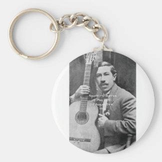 Agustín Pio Barrios 1910b Keychain