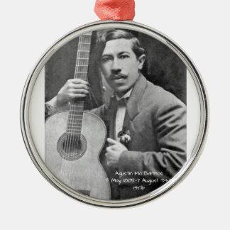 Agustín Pio Barrios 1910b Metal Ornament