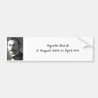 Agustin Bardi Bumper Sticker