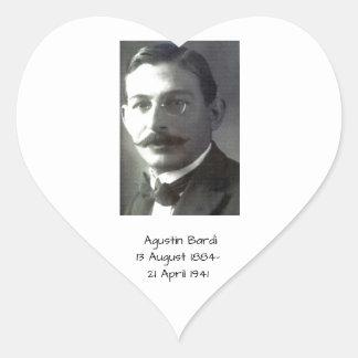 Agustin Bardi Heart Sticker