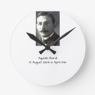 Agustin Bardi Round Clock