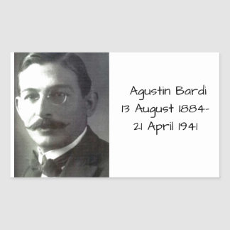 Agustin Bardi Sticker