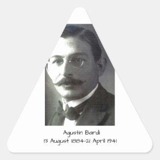 Agustin Bardi Triangle Sticker