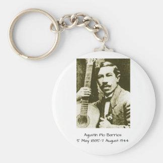 Agustin Pio Barrios Keychain