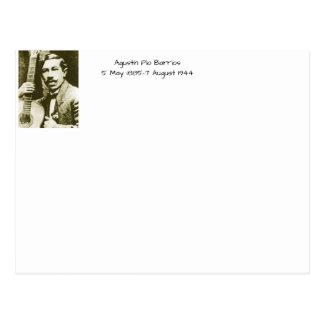 Agustin Pio Barrios Postcard