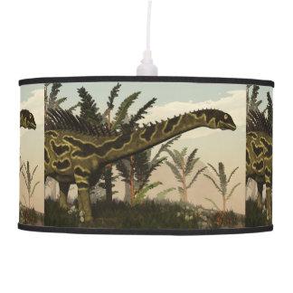 Agustinia dinosaur - 3D render Pendant Lamp
