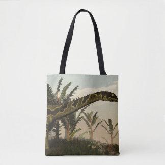 Agustinia dinosaur - 3D render Tote Bag
