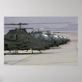 AH-1 Cobras Poster