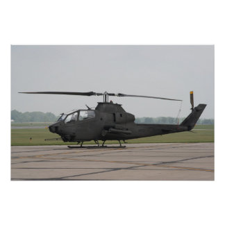 AH-1 Huey Cobra Poster