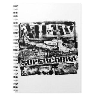 AH-1 SuperCobra Notebook Spiral Photo Notebook