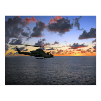 AH-1W Super Cobra USMC Postcard