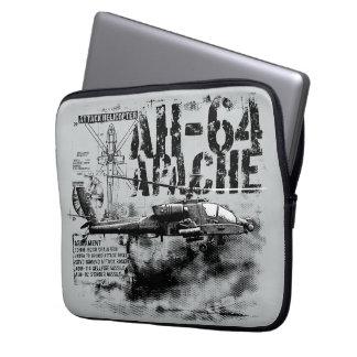AH-64 Apache Neoprene Laptop Sleeve 13 inch