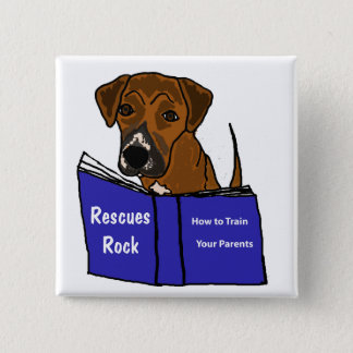 AH- Cute Puppy Dog Rescue Button