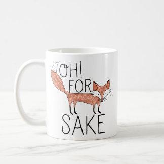 Ah ! Dans l'intéret de Fox Mug Blanc