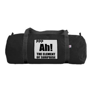 Ah Element Of Surprise Gym Bag