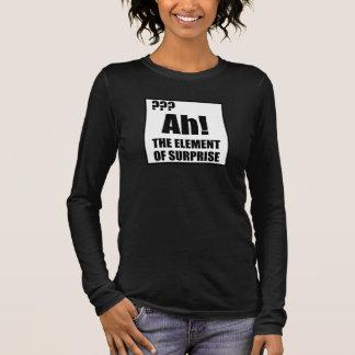 Ah Element Of Surprise Long Sleeve T-Shirt