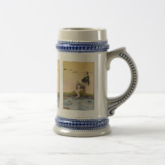 Ah, ha! You are at last in my domain, little fool! Beer Stein