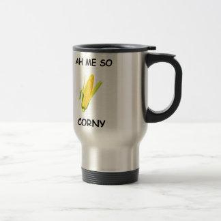 Ah Me So Corny Travel Mug