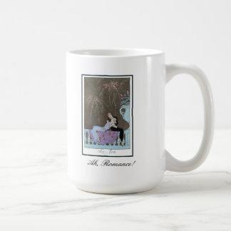 Ah, Romance! Kissing Couple Mug