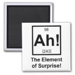 Ah the Element of Surprise Periodic Element Symbol Magnets
