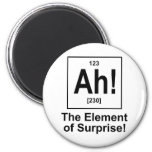 Ah! The Element of Surprise. Refrigerator Magnet