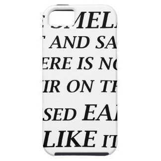 ah the smell of salt and sand there is on elixir o iPhone 5 cases