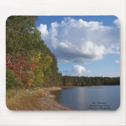Ah, Wisconsin! Mouse Pad