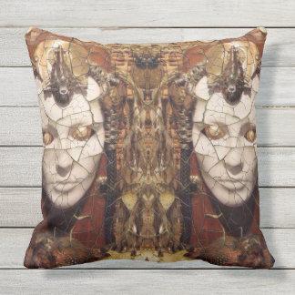 Aharon' Art Outdoor Pillow