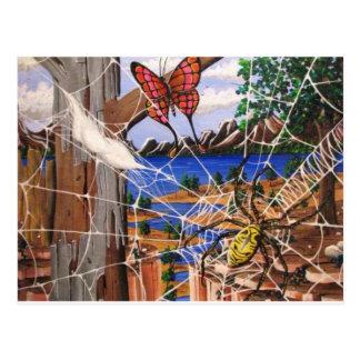 Aharon's Art Postcard