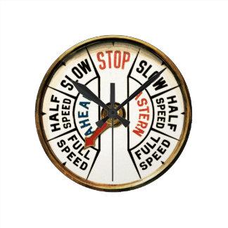 Ahead, Astern Round Clock