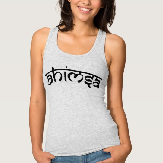 Ahimsa - अहिंसा - Buddhist Tenet Tank Top