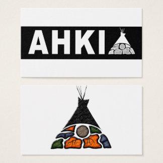 Ahki Logo Cards