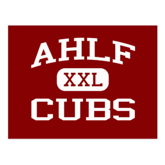 Ahlf - Cubs - Junior High School - Searcy Arkansas Postcard
